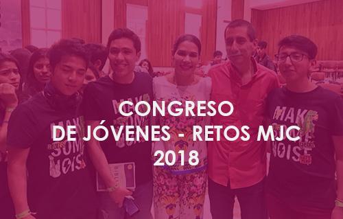 CONGRESO DE JÓVENES – RETOS MJC