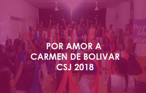 Por amor a Carmen de Bolivar