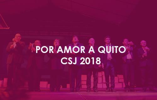 Por amor a Quito - Ecuador